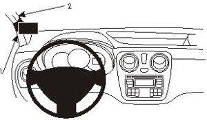 Product Pol 1097 ProClip Do Dacia Dokker 14 17