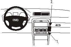 Product Pol 2658 ProClip Do Audi A4 Avant 02 07
